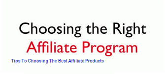 How to Choose The Best Affiliate Marketing Program For You