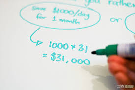 My 'one day' action plan to make you $1,000