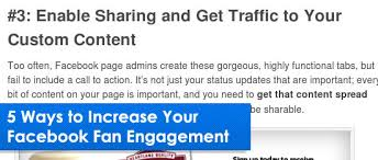 How to Increase Your Facebook Fan Page Engagement in 5 Simple Steps
